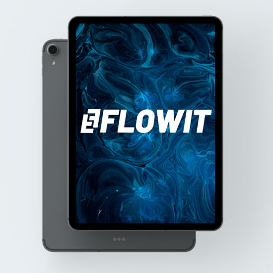 flowit marketing y diseño logo